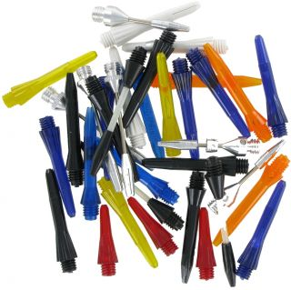 Dikdraad Shaft Assorti 10 Sets Breeddraad Shafts   Darts Warehouse