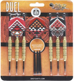 Duel Brass Plated Steeltip 18 gram   Darts Warehouse