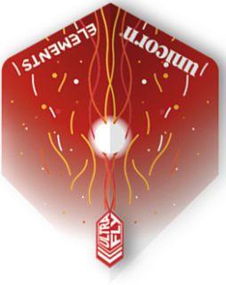 UltraFly Elements Red Firestorm Big Wing Unicorn Flight   Darts Warehouse