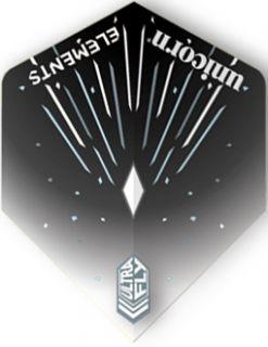 UltraFly Elements Black Icestorm std. Unicorn Flight   Darts Warehouse