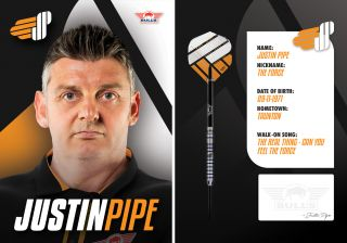 Justin Pipe The Force Signcard