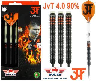 Justin van Tergouw JvT 90% 4.0 Bull's Dartpijlen | Darts Warehouse