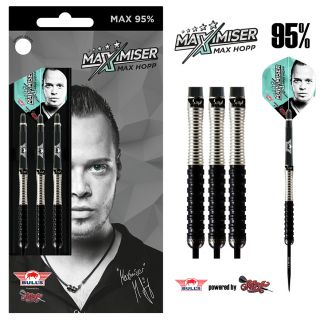 Bull's Max Hopp 95% Max95 Steeltip | Darts Warehouse