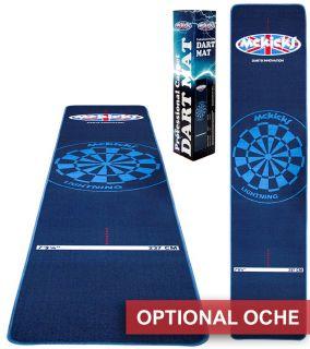 Carpet Dartmat McKicks Blue | Darts Warehouse