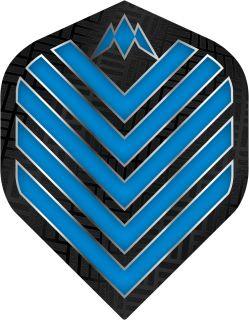 Mission Admiral Std. Aqua Blue Dartflight | Darts Warehouse
