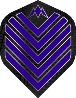 Mission Admiral Std. Dark Blue Dartflight | Darts Warehouse