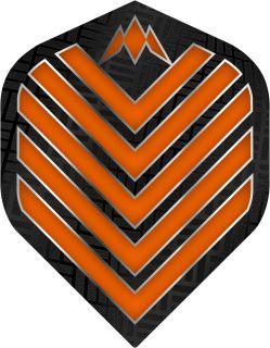 Mission Admiral Std. Orange Dartflight | Darts Warehouse