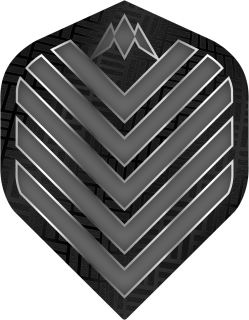 Mission Admiral Std. Grey Dartflight | Darts Warehouse