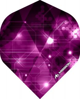 Mission Astral Pink Std. Dartflight | Darts Warehouse