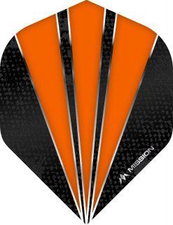 Mission Flare Orange Std. Dartflight | Darts Warehouse