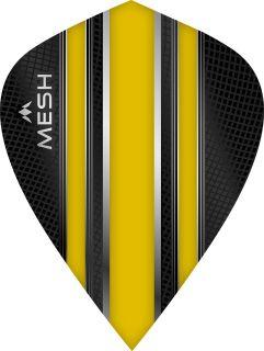 Mission Mesh Kite Yellow Dartflight   Darts Warehouse