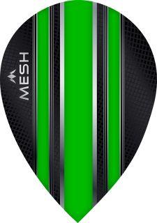 Mission Mesh Pear Green Dartflight   Darts Warehouse