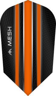 Mission Mesh Slim Orange Dartflight   Darts Warehouse