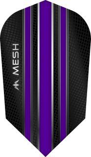 Mission Mesh Slim Purple Dartflight   Darts Warehouse
