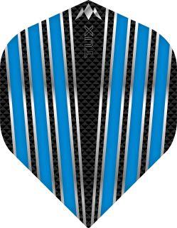 Mission Tux Std. Aqua Blue Dartflight | Darts Warehouse