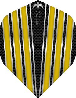 Mission Tux Std. Yellow Dartflight | Darts Warehouse