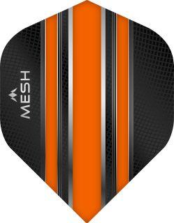 Mission Mesh Std. Orange Dartflight   Darts Warehouse
