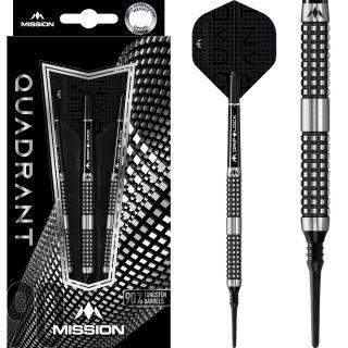 Mission Quadrant 90% M4 Softtip Darts   Darts Warehouse