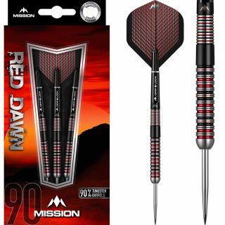 Mission Red Dawn 90% M1 Darts | Darts Warehouse