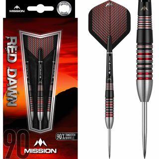 Mission Red Dawn 90% M2 Darts   Darts Warehouse