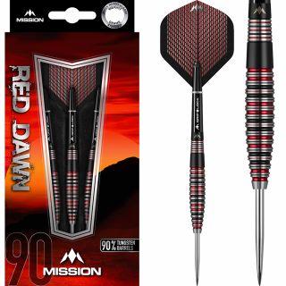 Mission Red Dawn 90% M3 Darts   Darts Warehouse