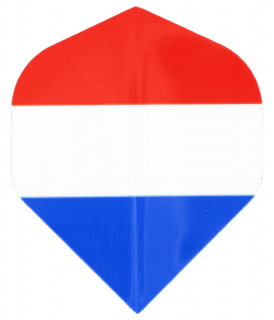 Bull's Motex Std. | Nederlandse Vlag Flight | Darts Warehouse