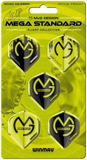 Michael van Gerwen Mega Std. Flight 5-Pack Winmau | Darts Warehouse