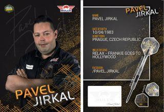 Pavel Jirkal Signcard   Darts Warehouse