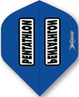 Pentathlon X180 Blue | McKicks Dartflights | Darts Warehouse
