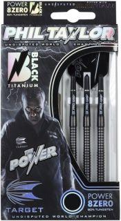Power Taylor 8Zero Black A 80% | Target Dartpijlen bij Darts Warehouse