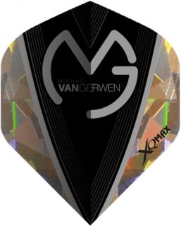 Michael van Gerwen Dartflights   2D Broken Glass   Darts Warehouse