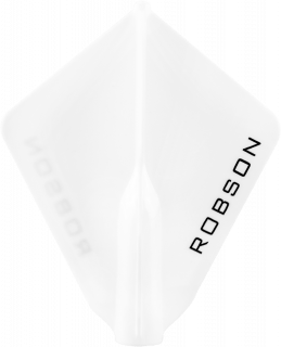 Robson Plus Flight Astra White | Darts Warehouse