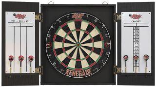 Shot Renegade Dartboard Cabinet Set | Darts Warehouse