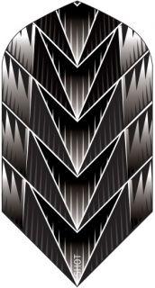 Shot Branded Slim Flight Tribal Weapon Black | Darts Warehouse