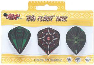 Shot Trio Flight Pack   Darts Warehouse