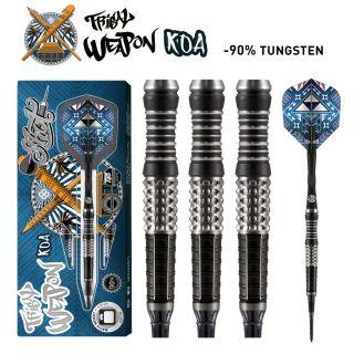 Shot Tribal Weapon Koa 90% Softtip Darts | Darts Warehouse
