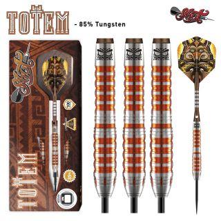 Totem 3 Orange 85% Steeltip Darts   Darts Warehouse