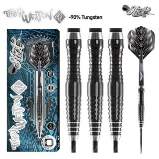Tribal Weapon 4 90% Black Titanium Shot Steeltip | Darts Warehouse