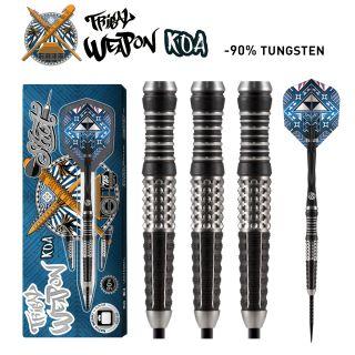 Tribal Weapon Koa 90% Shot Dartpijlen | Darts Warehouse