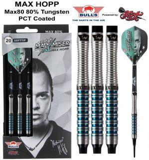 Softtip Bull's Max Hopp 80% Max80 20 gram | Darts Warehouse