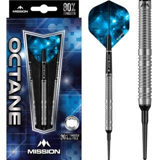 Mission Octane 80% M1 Softtip Dartpijlen | Darts Warehouse