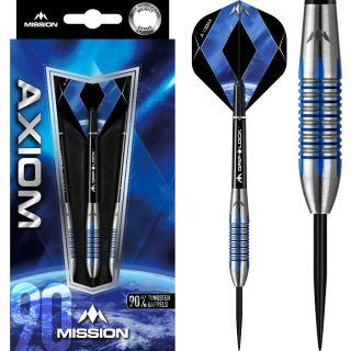 Axiom 90% M4 Blue Titanium Darts | Darts Warehouse