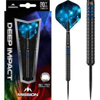 Deep Impact 80% M1 Mission Steeltip Darts | Darts Warehouse