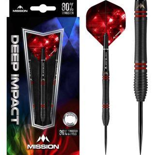 Deep Impact 80% M5 Mission Steeltip Darts | Darts Warehouse