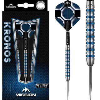 Kronos M1 95% Tungen Blue Titanium Darts | Darts Warehouse