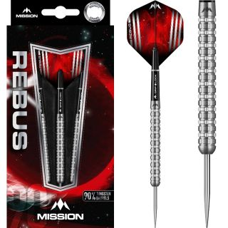Rebus 90% M3 Mission Steeltip Darts | Darts Warehouse