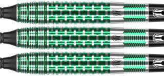 Agora Verde AV30 90% Tungsten Softtip Darts | DartsWarehouse