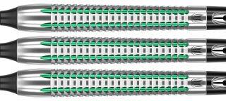 Agora Verde AV34 90% Tungsten Softtip Darts | DartsWarehouse