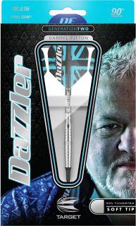 Darryl Fitton Gen.2 Softtip Dartpijlen van Target | Darts Warehouse