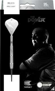 Softtip Phil Taylor Power 9FIVE Gen.6 95% | Darts Warehouse